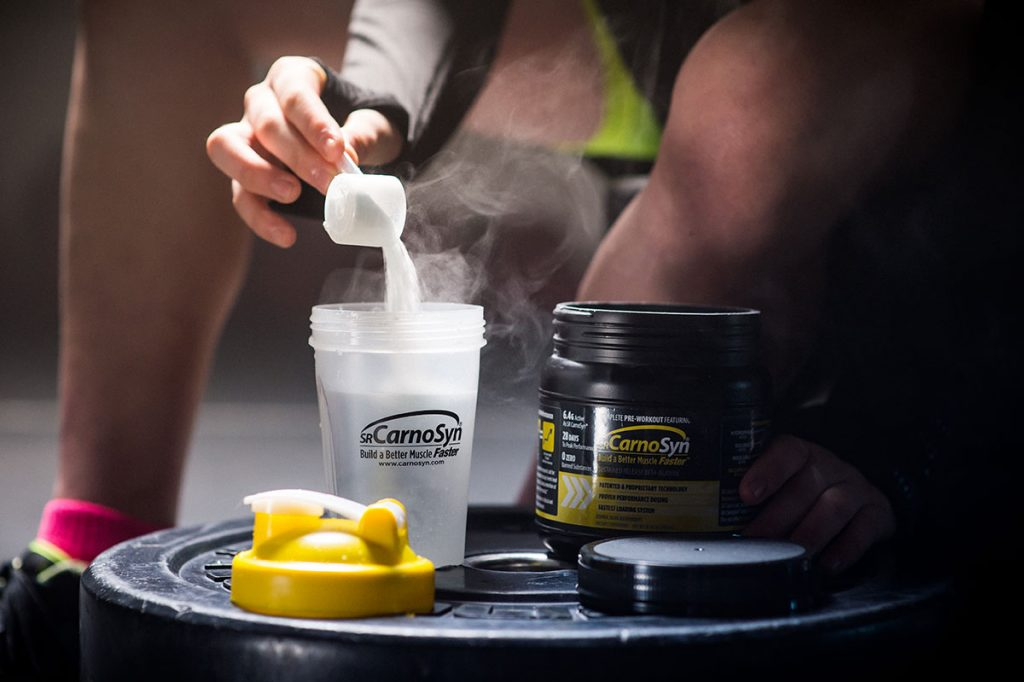 CarnoSyn beta alanine servings