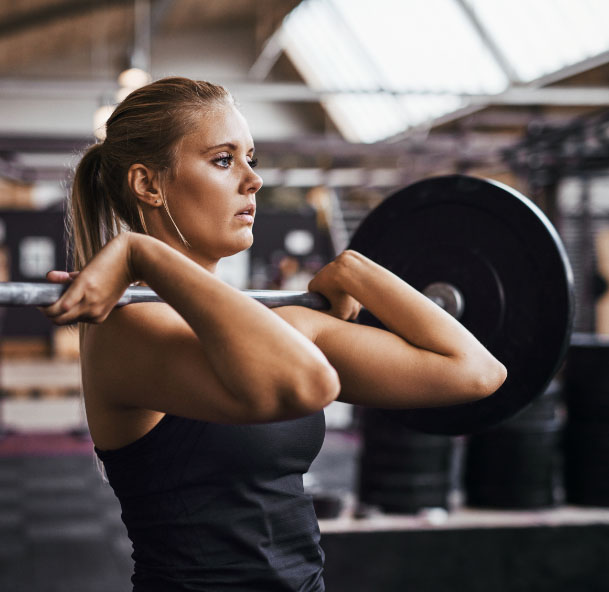 CarnoSyn beta-alanine with building muscle and lifting weights
