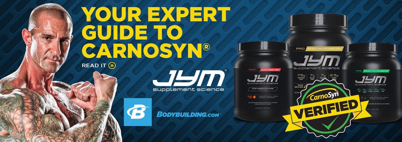 JYM Supplement Science on Bodybuilding
