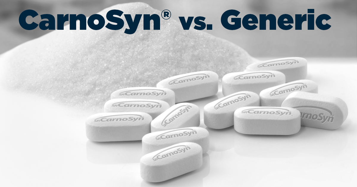 carnosyn patented beta alanine vs generic beta alanine